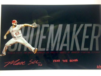 shoemaker signed items (3)